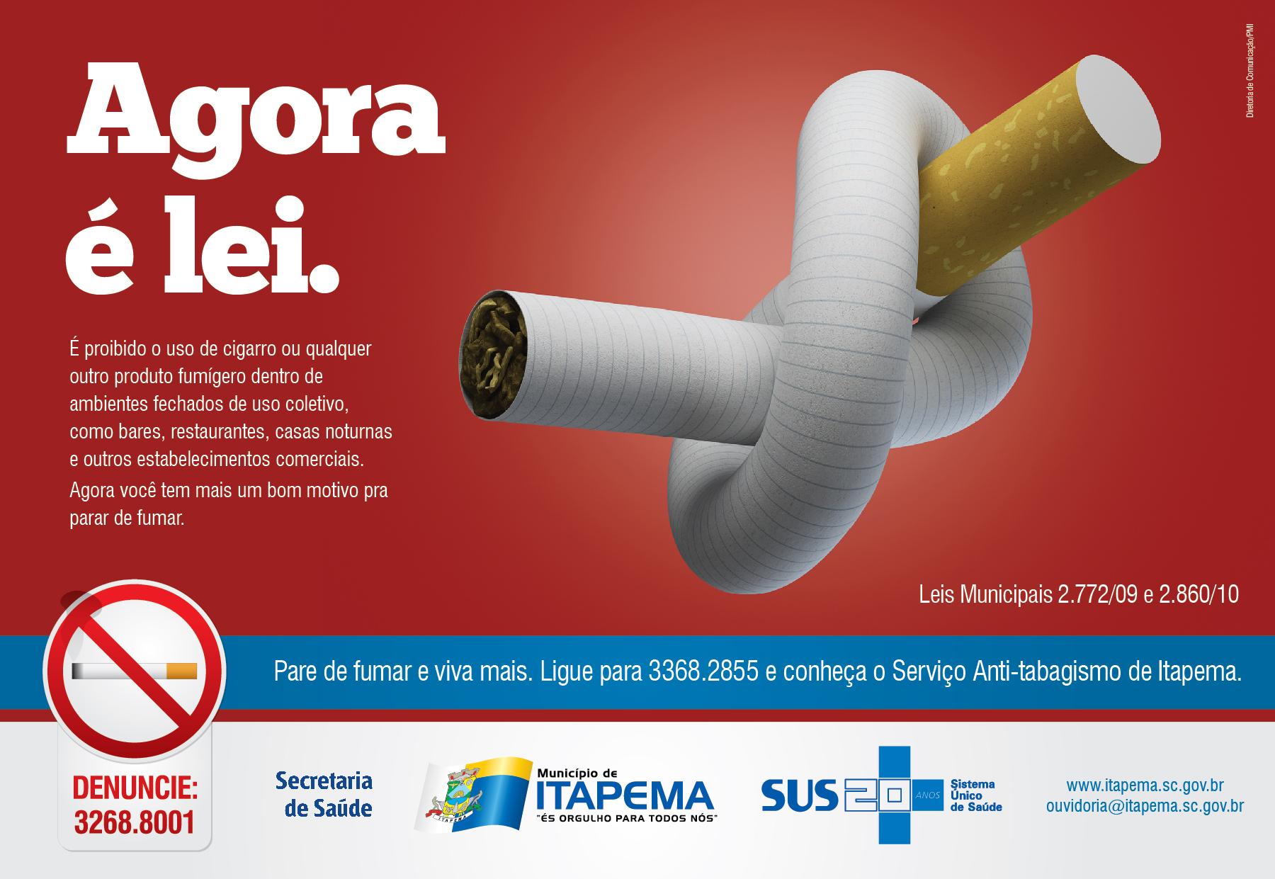 Campanha contra o cigarro