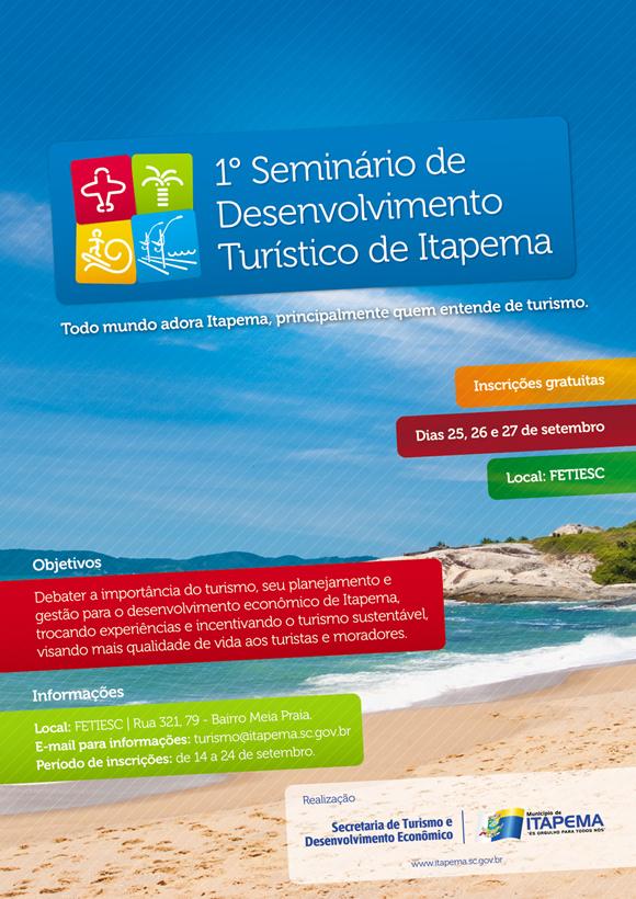 Seminário de desenvolvimento turístico de Itapema